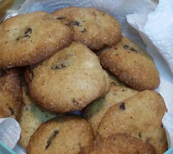 Receta Fácil de Cookies de chocolate - www.coquinare.com - Dulces Recuerdos