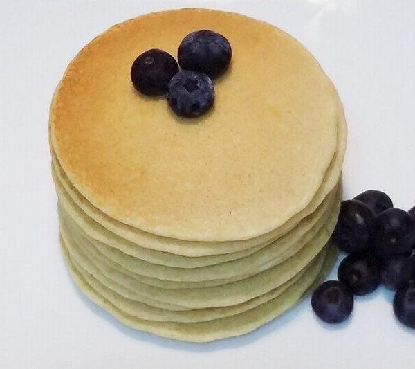 Receta Fácil de Tortitas Americanas con Arándanos - www.coquinare.com - Dulces Recuerdos