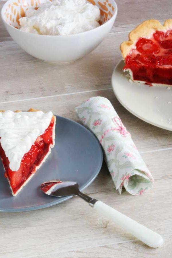 Receta Tarta de Fresas - www.coquinare.com - Dulces Recuerdos Sin Lactosa