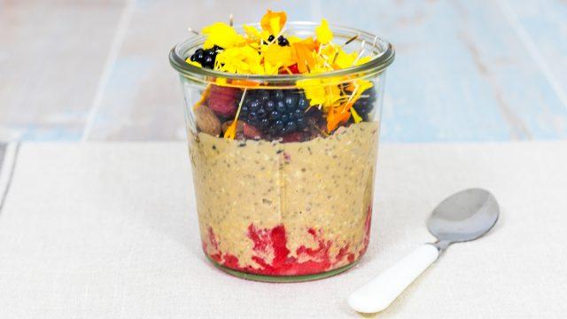Receta Desayuno de Proteínas Vegetales Sin Lactosa - www.coquinare.com - Dulces Recuerdos Sin Lactosa