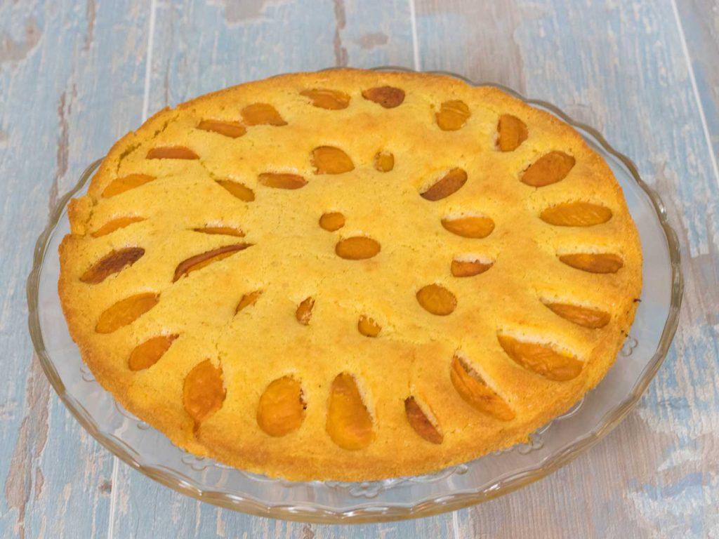 Tarta de Albaricoque Sin Lactosa - www.coquinare.com - Dulces Recuerdos Sin Lactosa