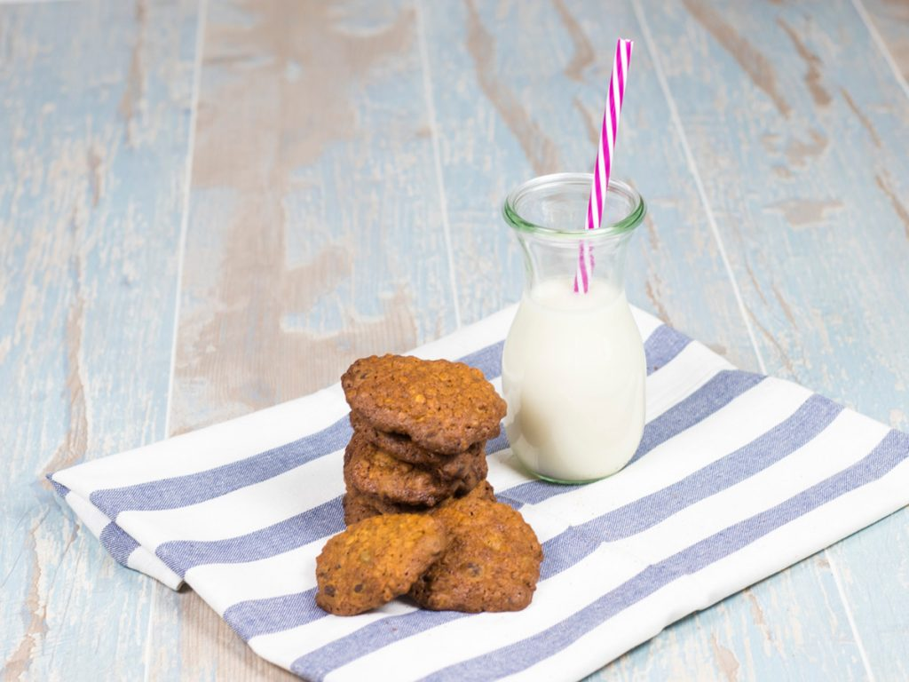 Receta Galletas de Avena y Chocolate Sin Lactosa - www.coquinare.com - Dulces Recuerdos Sin Lactosa