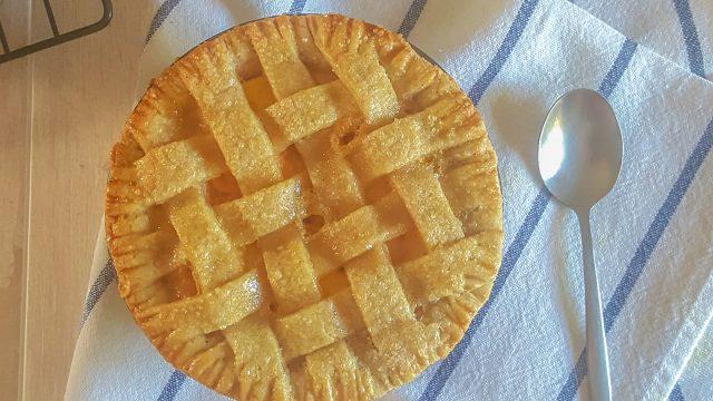Tarta de Melocotón Sin Lactosa - www.coquinare.com - Dulces Recuerdos Sin Lactosa